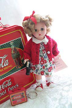 Madame Alexander Coca Cola doll