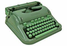 Swiss Hermes 3000  Typewriter