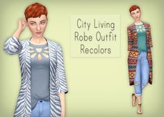 City Living coat recolors at Simsrocuted • Sims 4 Updates