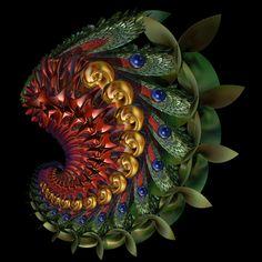 Incendia Leafy Spiral by AmorinaAshton.deviantart.com on @deviantART