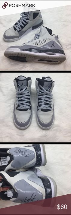 Nike Air Jordan 23 Jumpman Tee Shirt Boys Size 5 Blue Lagoon