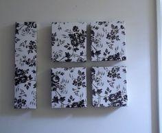 Este artesanato com caixa de cereal pode ser bem sofisticado, basta escolher um papel contact com um estilo mais refinado.