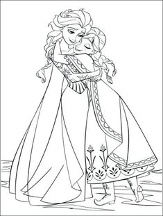 Anna From Frozen Coloring Pages Sheets Free For Girls Fever Disney ...
