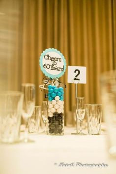 75th Birthday Decorations 60th Centerpieces Parties 90th
