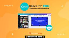 Canva Pro EDU Creation is account creation Service for you who don't have time to wait for approval time of FREE Canva Edu account. The post Canva Pro Edu Service appeared first on DiscountSAAS.