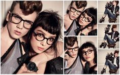 Diesel Glasses Campaign – Screen Test – Fall / Winter 2012-2013-Photographer: Steven Meisel