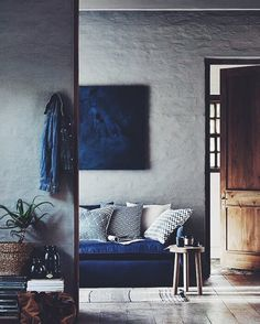 In the mood of indigo #dcninteriors