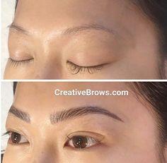 Visit me at #creativebrows.com #microblading #3dEyebrows #eyebrows…