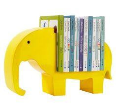 Dwell Studio Elephant Bookshelf - I think I could make something like this but of an owl...