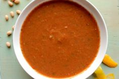 A very unusual and spectacular twist on the classic tomato soup.