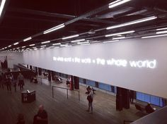 The whole world  the work = the whole world #throwback #weekendvibes #tatemodern #mindfoodmonday #think