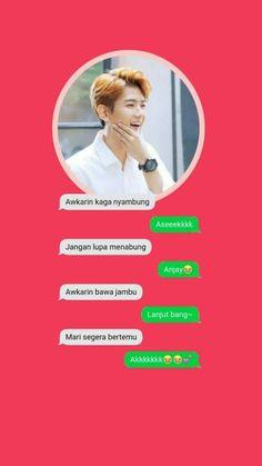 Awkarinnn Awkarinnn Jokes Quotes, Qoutes, Memes, Boyfriend Kpop, Chat Line, Funny Chat, Kpop Exo, Hoshi, Reaction Pictures