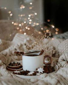 Photography Tea, I Love Coffee, Warm And Cozy, Panna Cotta, Picnic, Winter, Ethnic Recipes, Christmas, Dragon