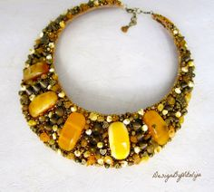 Amber Statement Necklaces