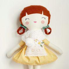 SpunCandy Handmade Dolls, Bespoke Doll, Rag Dolls - www.spuncandy.com