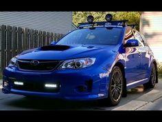 2012 Subaru WRX Stage 2 Straight Pipe Exhaust - YouTube