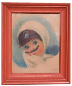 "Original Altered/ReDirected Thrift Store by Ben J Hutchison titled ""Creepy Mario."""