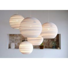 Moon 10 White hanglamp | Graypants