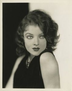 Another photo of the perfect Myrna Loy, by Julian Ancker