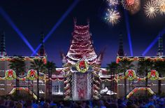 New Holiday Nighttime Spectacular Jingle Bell, Jingle BAM! at Disney's Hollywood Studios