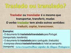 traslado ou translado