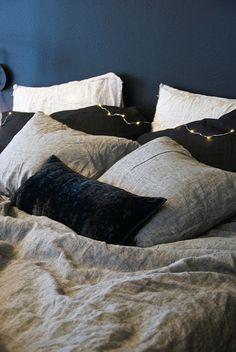 talo markki -balmuir linen bed sheets