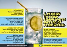 11 Benefits of Lemon Water You Didn't Know About ~ Ramblings Of A Redhead @Misty Marie Battle