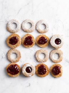Day 2 of 12 Days of Cookies: Alice Medrich's Buckwheat Linzer Cookies