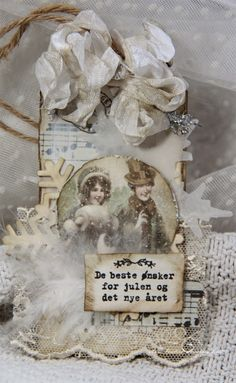 From Anne Kristine Skovborg Holt in Norway. Anne's paper fun