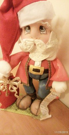 #natal15 #lembracas #painatal #eva #foami #bymayrafernandes #bonecapersonalizada #modelada