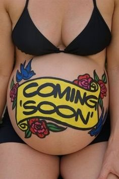 15 Painted Pregnant Bellies to Inspire Your Own | Pregnancy Corner