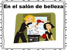 This is a zipped folder that contains en el Salon de Belleza Unit.  Included are a Power Point (30 slides), home work, vocabulary sheet, and exam. All of the items are editable.