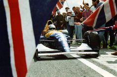 Williams Wednesdays … hometown hero Nigel Mansell, Canon Williams-Renault FW14, 1991 British Grand Prix, Silverstone Nigel winning his home Grand Prix for the 3nd time (Silverstone '86 & Silverstone...