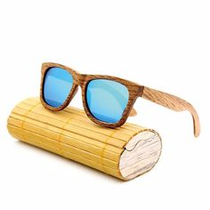 d6d8addaf1e New fashion Products Men Women Glass Bamboo Sunglasses au Retro Vintage Wood  Lens Wooden Frame Handmade(China (Mainland))