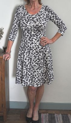 Lady Skater Dress Pattern by Kitschy Coo
