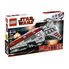 Lego star wars 8039 Venator class Republic Attack Cruiser
