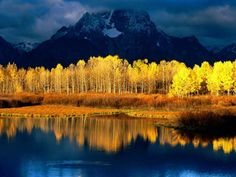 In beautiful Wyoming you will find the breathtaking Grand Teton National Park, which features the 46 mile long Grand Teton mountain range. Description from beautifulplacestovisit.com. I searched for this on bing.com/images