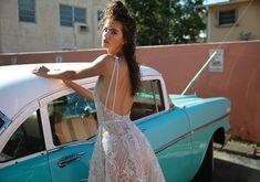 Berta Wedding Dresses for Spring The Miami Collection.These designer wedding dresses sparkle with classic Berta Bridal couture details. Dream Wedding Dresses, Designer Wedding Dresses, Wedding Gowns, Miami Vice, Berta Bridal, Bridal Gowns, Boho Bride, Boho Wedding, Bridal Collection