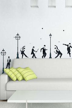Wall decals make rooms at least 82% more awesome.