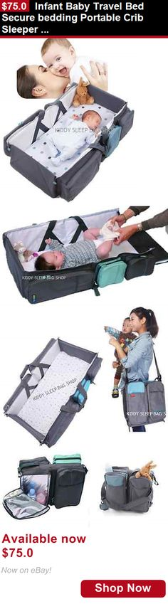 Baby Co-Sleepers: Infant Baby Travel Bed Secure Bedding Portable Crib Sleeper Bag Lightweight BUY IT NOW ONLY: $75.0
