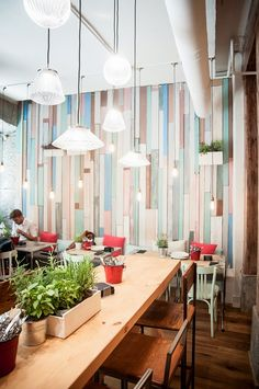 Le Coco _ Restaurante Madrid Mexican Restaurant Decor, Cafe Restaurant, Restaurant Design, Cafe Design, House Design, Cafeteria Design, Madrid Restaurants, Tea Cafe, Restaurant Furniture