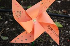Make Garden Pinwheels Activity