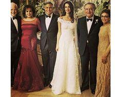 Por dentro da festa de Clooney e Amal