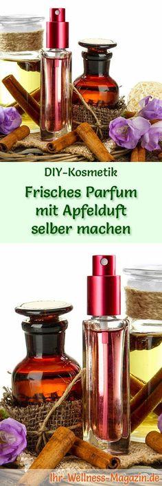 Eigenes Parfum selber mischen - Parfum Rezept: Frisches Parfum mit Apfelduft