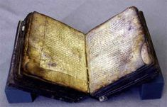 From the Collection Care blog post 'Father Kogel and the ultra-violet examination of manuscripts'. Image: Archimedes palimpsest