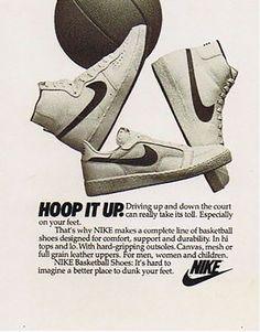 Nike Vintage, Vintage Ads, Vintage Posters, Vintage Sneakers, Vintage Shoes, Anuncio Nike, Techno Style, Old Nikes, 80s Ads