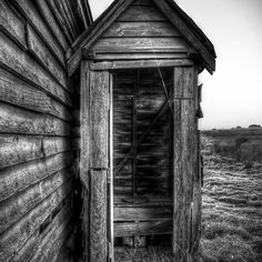 """Outhouse """"Dunny"""" - HDR"""