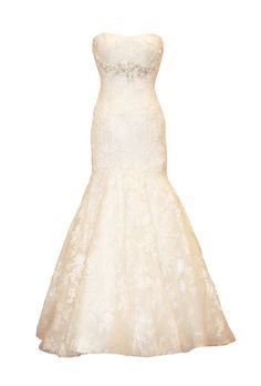 Wedding Dresses for Petite Figures. lace appliqué and organza mermaid wedding dress with slightly scooped neckline and Swarovski crystals at the waist, Celebrity Wedding Dresses, Wedding Dresses For Girls, Perfect Wedding Dress, Wedding Dress Styles, Wedding Attire, Celebrity Weddings, Wedding Hair, Dream Wedding, Dress Body Type