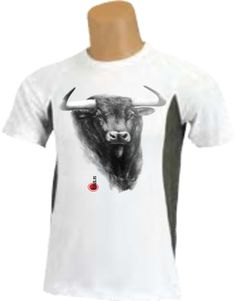 Camiseta - Cabeza de toro dibujada