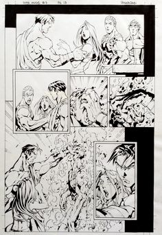 10th Muse #07, page 13 - Roger Cruz, in RogerCruz's 10th Muse #07 Comic…